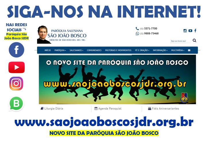 Website São João Bosco