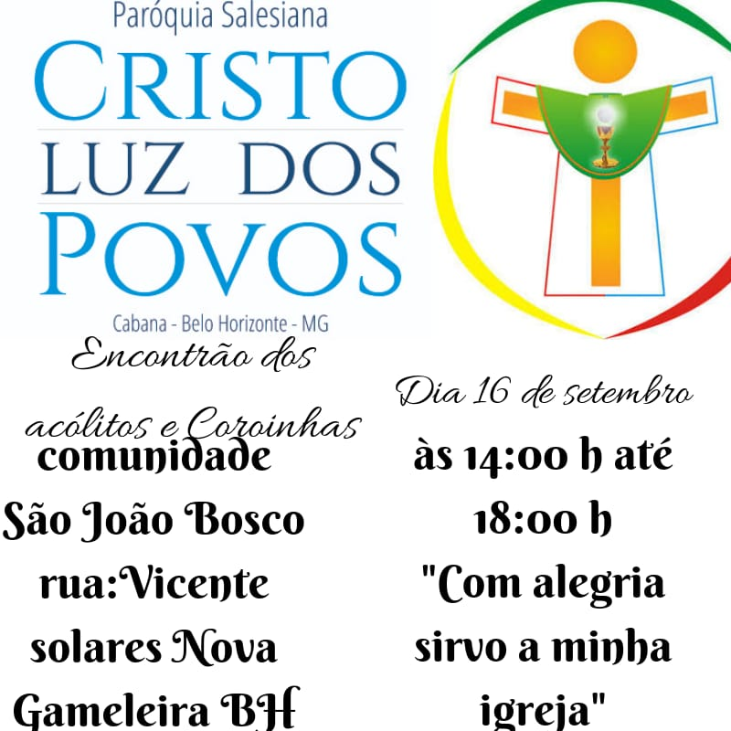 PARÓQUIA SALESIANA CRISTO LUZ DOS POVOS